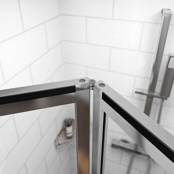 V4 Bifold Shower Door 700