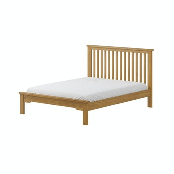 MFI Rome reclaimed pine double bed