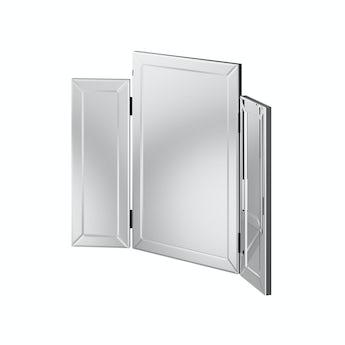 MFI Paris mirror glass trifold mirror