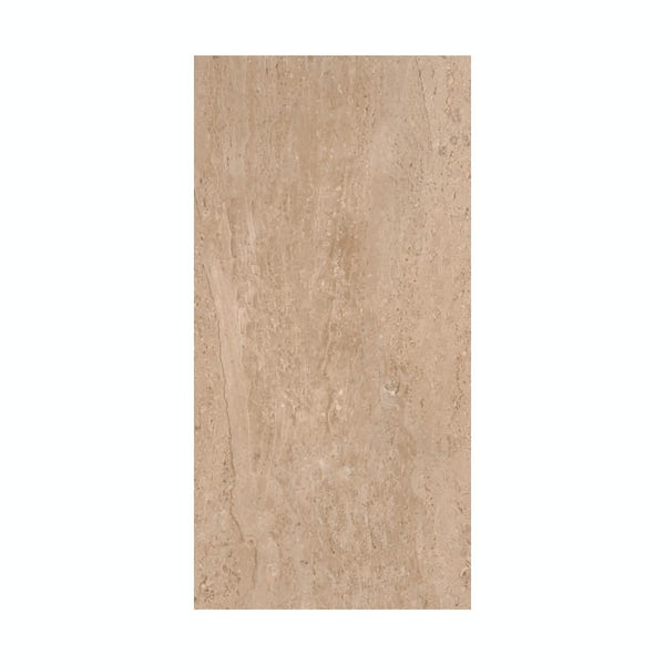 British Ceramic Tile Lux sand beige gloss tile 298mm x 598mm