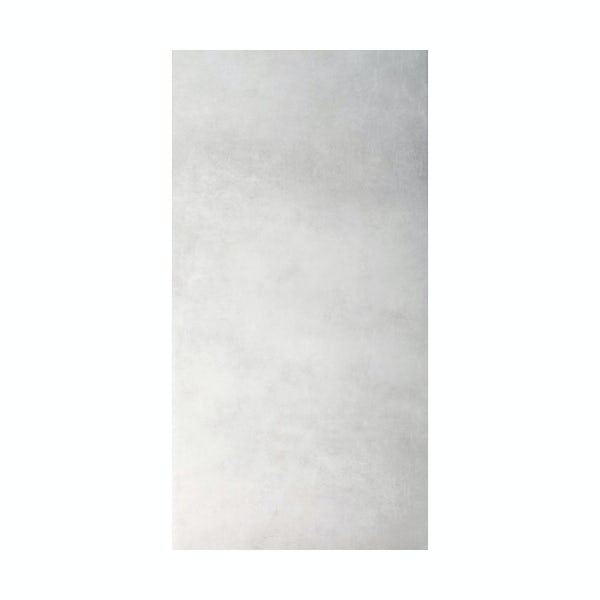 British Ceramic Tile Canvas clay grey matt tile 298mm x 598mm