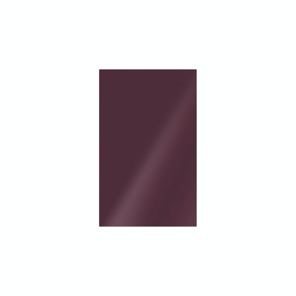 cut out of plum coloured studio conran tile
