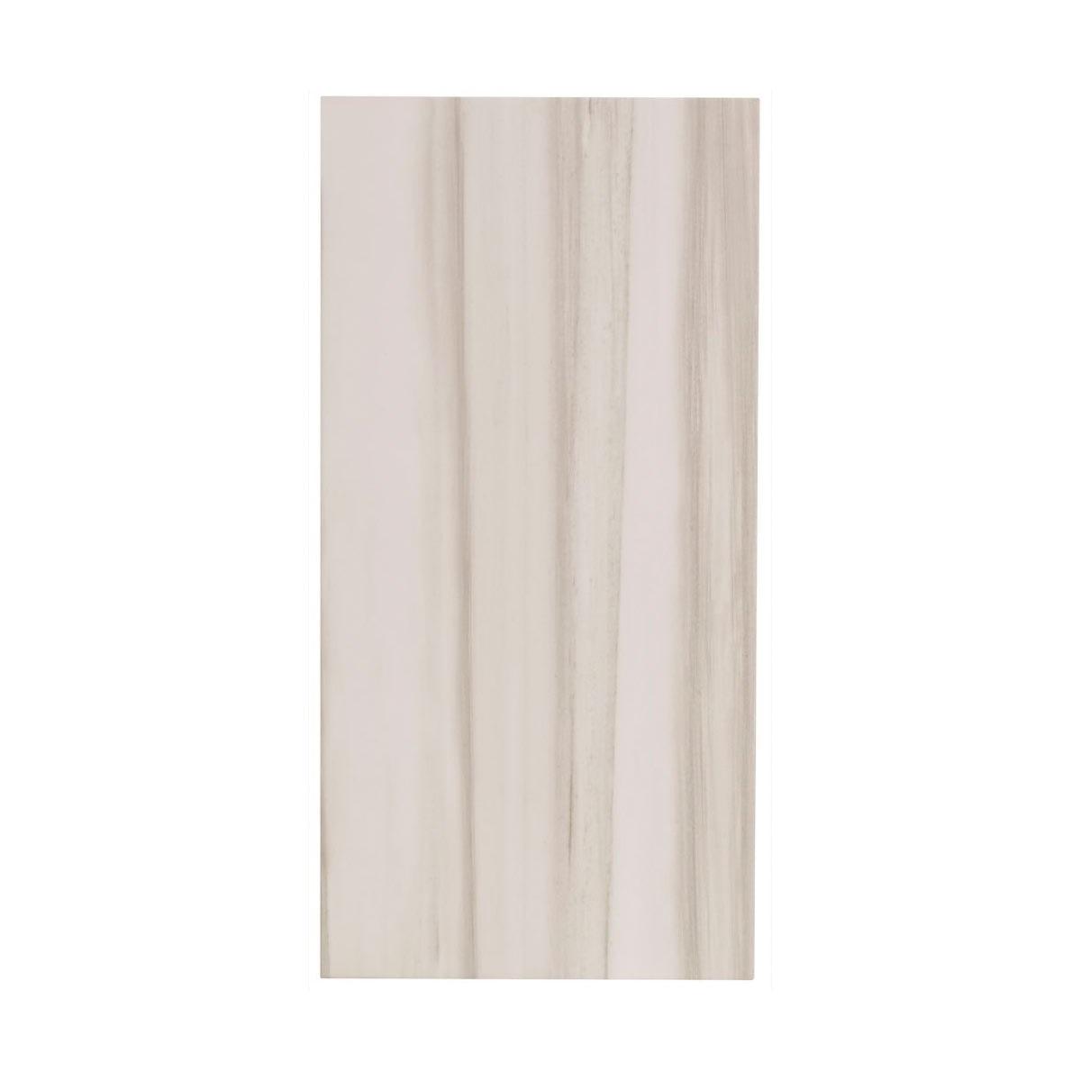 British Ceramic Tile Moon white matt tile 298mm x 598mm