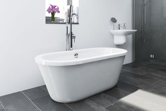 Clearance: Yale freestanding bath