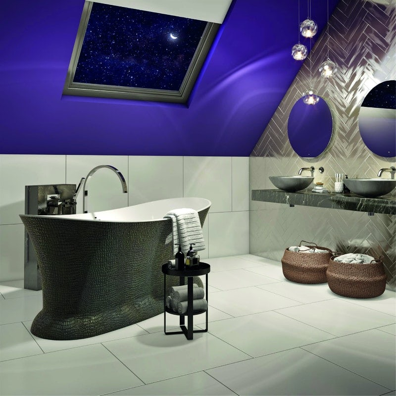 Ultra-Violet bathroom
