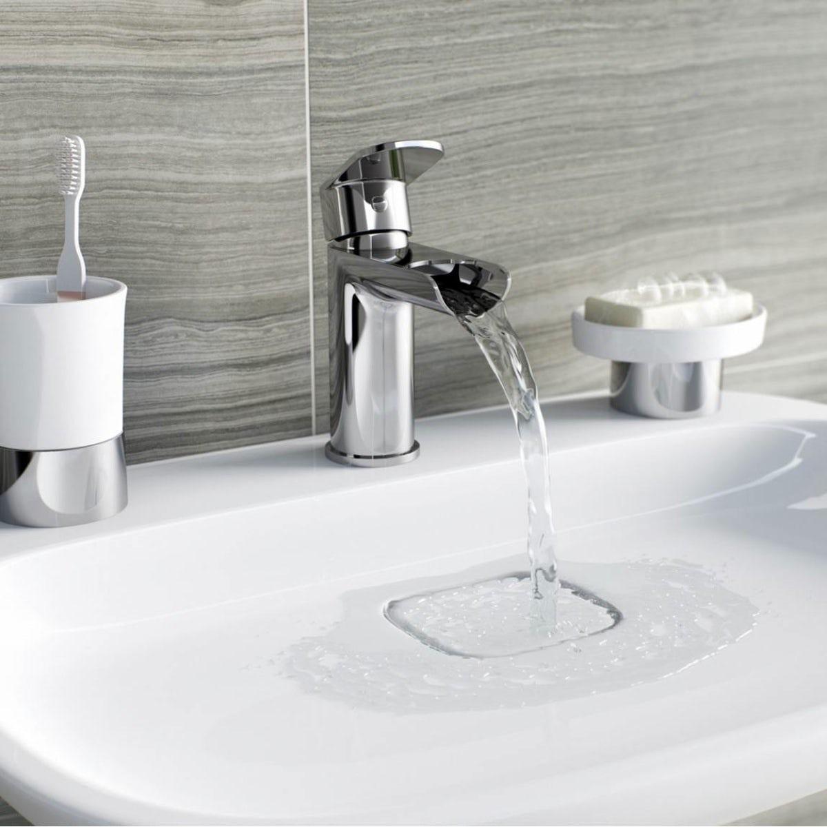 Keswick waterfall basin mixer tap
