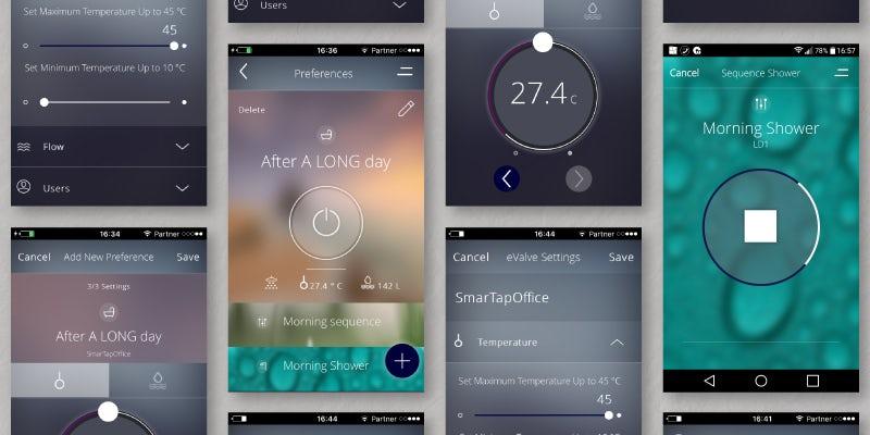 SmarTap app