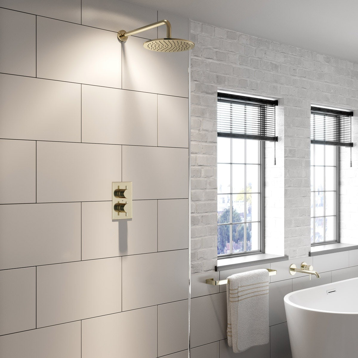 Spencer collection taps, showers & accessories