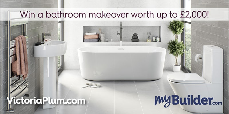 Win a bathroom makeover worth up to £2,000