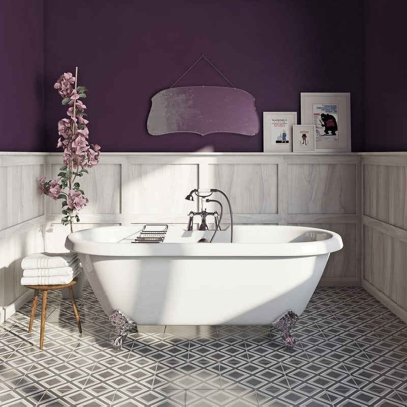 Craig & Rose sloe gin kitchen & bathroom paint