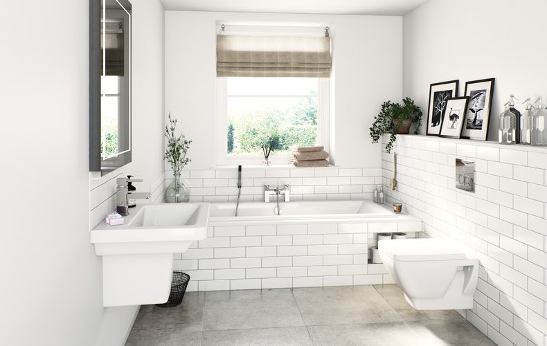 Verso bathroom suite