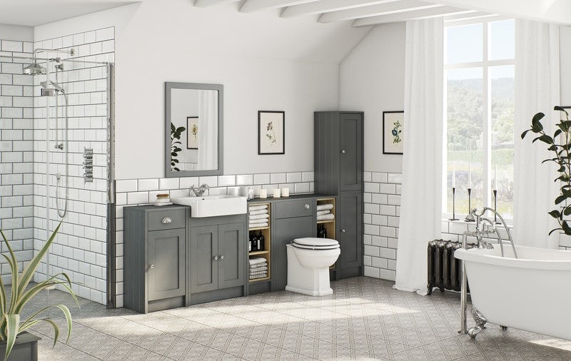 Merveilleux Dulwich Grey Bathroom Furniture