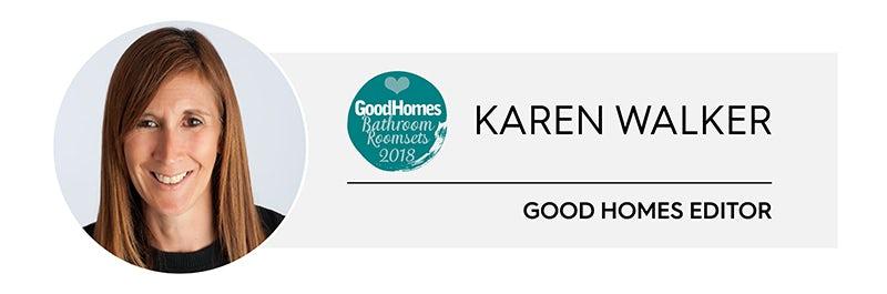 Karen Walker, Editor, Good Homes Magazine