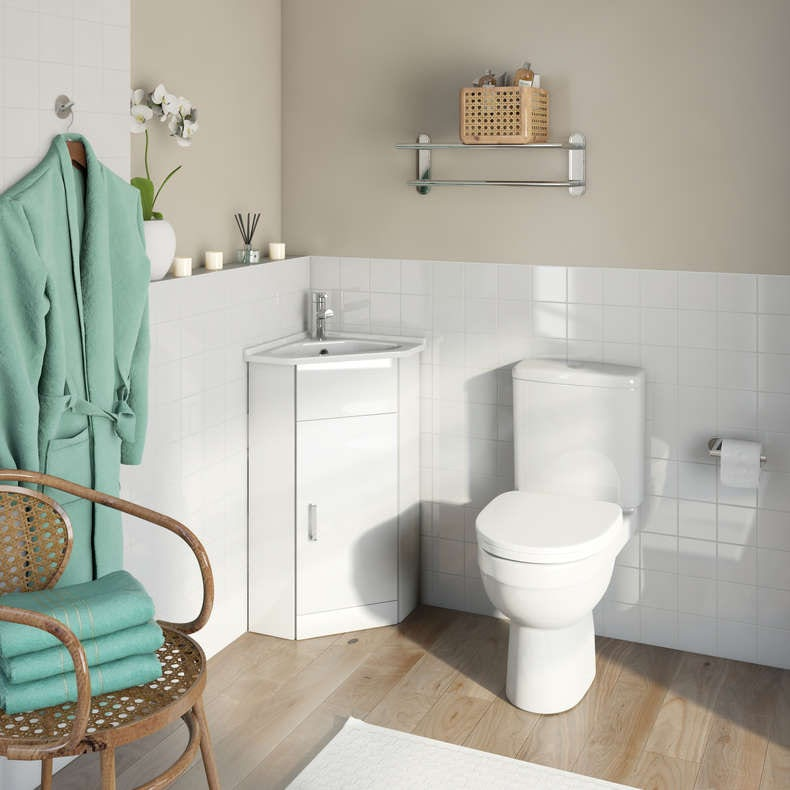 Compact cloakroom furniture