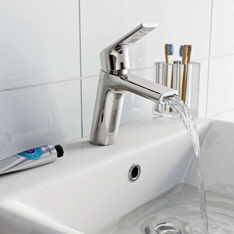 Purity basin mixer tap