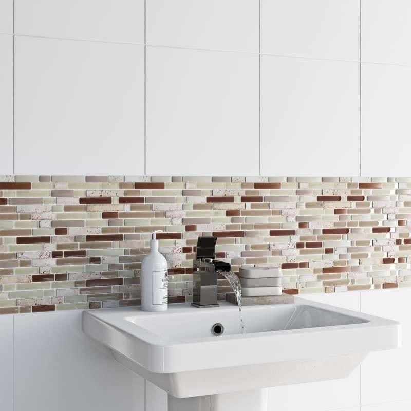 Mosaic nougat tile