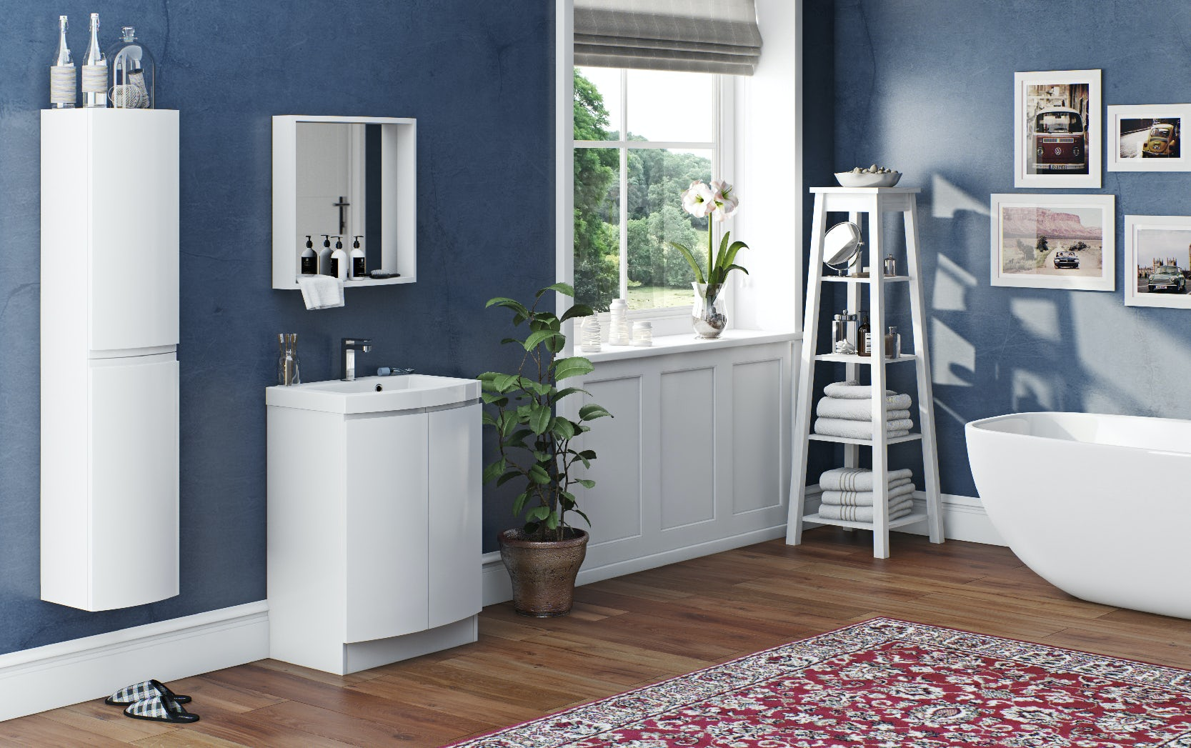 Craig & Rose 1829 bathroom paint