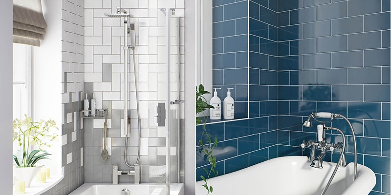 Metro bathroom tiles ideas