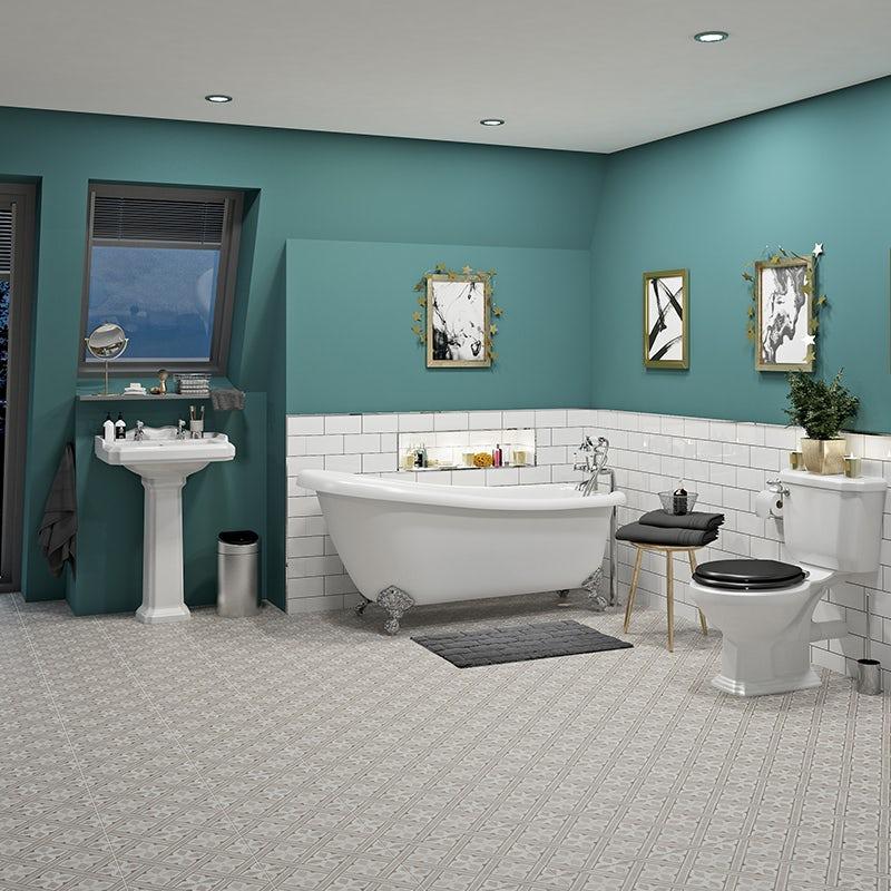 Craig & Rose royal peacock kitchen & bathroom paint 2.5L