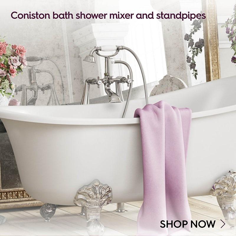 Coniston shower bath mixer pack