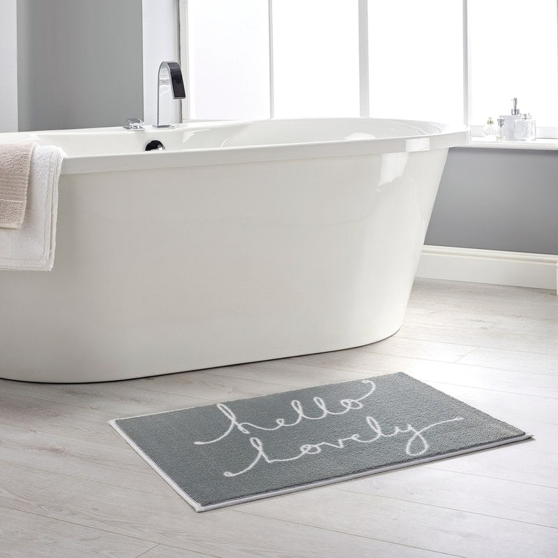 Hug Rug bathroom mats