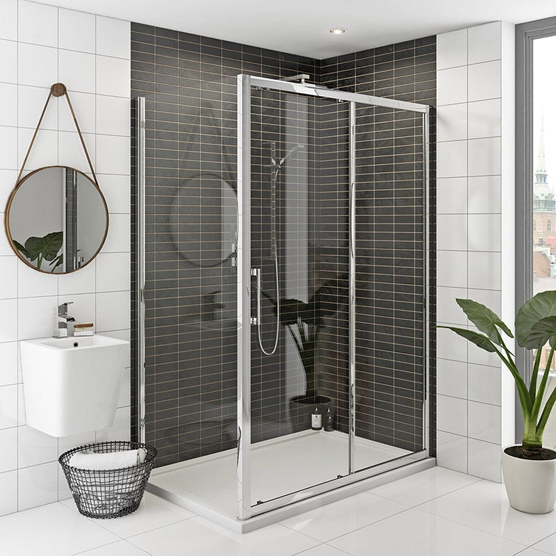 Mode Rand premium 8mm easy clean shower enclosure 1000 x 700