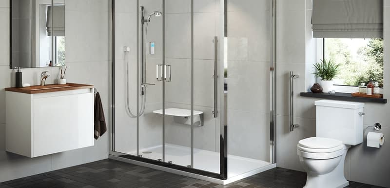 Mira Leap shower enclosure