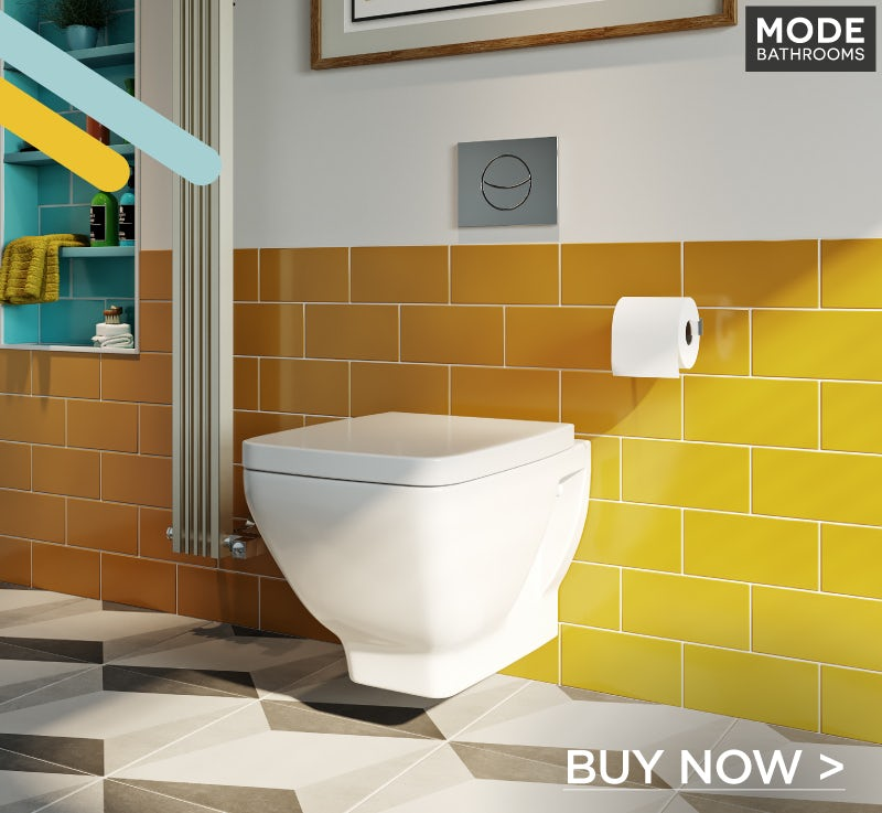 Mode Cooper wall hung toilet