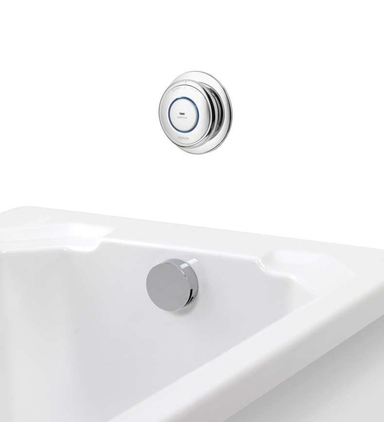 Aqualisa quartz digital bath fill system