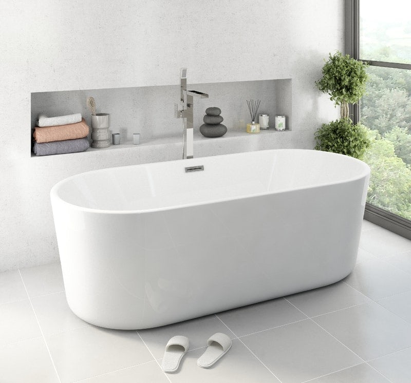 Tate freestanding bath