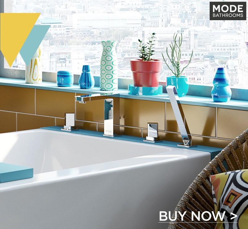 ModeAustin4 hole bath shower mixer tap