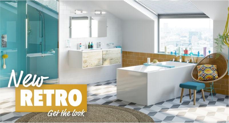 New Retro bathroom part 1