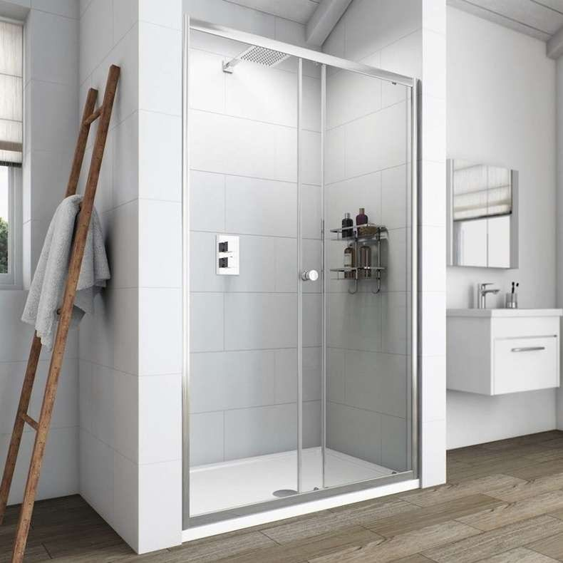 Clarity 6mm sliding shower door 1200mm