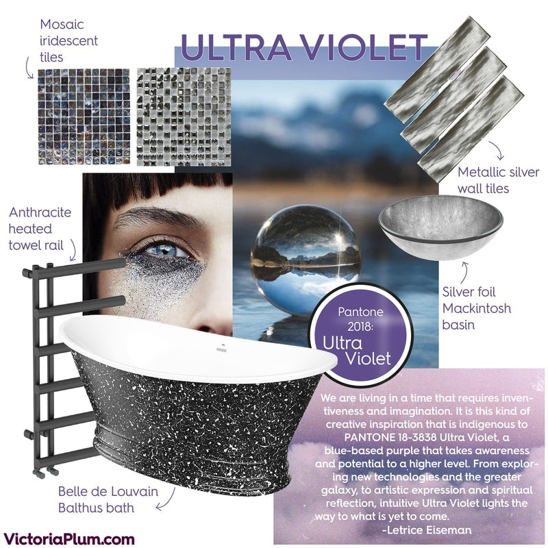 Ultra Violet mood board