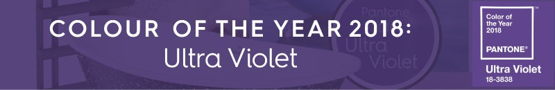 Pantone colour of the year 2018: Ultra Violet