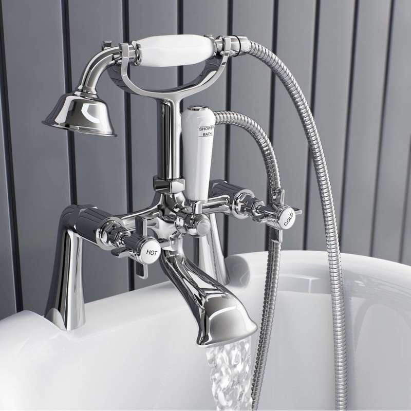 5 great bath shower mixer taps | VictoriaPlum.com