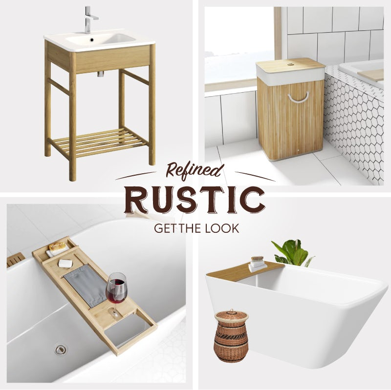 Refined Rustic materials