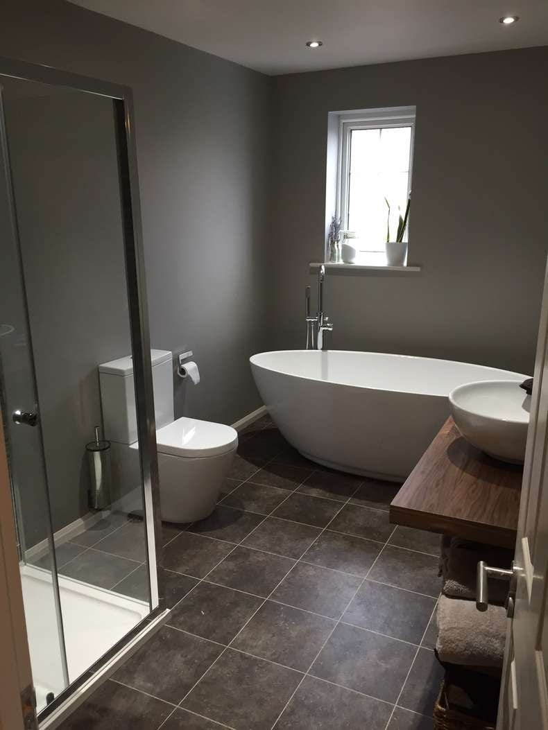 Dan Hughes - bathroom after makeover