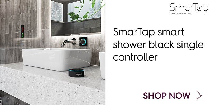 SmarTap smart shower black single controller