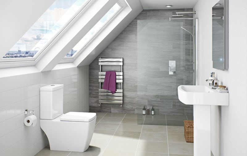 The best bathroom suites for loft conversions for Bathroom ideas loft conversion