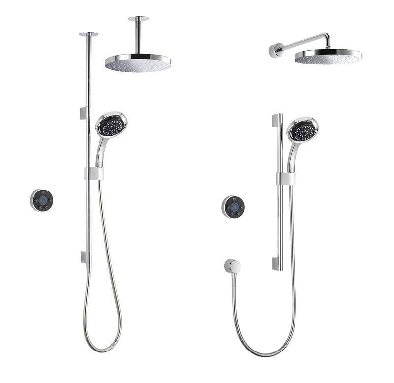 Mira Platinum dual digital showers