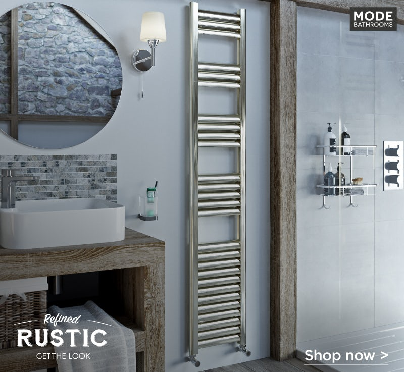 Mode Carter heated towel rail 1400 x 300
