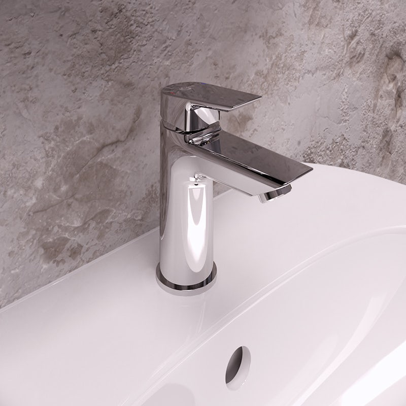 Tesi single lever basin mixer tap