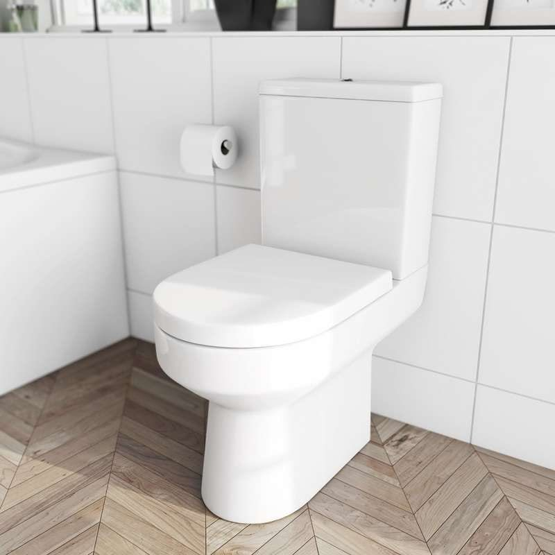 Wharfe close coupled toilet