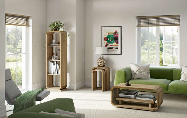 Get a retro look with modern furniture for Modern living furniture victoria
