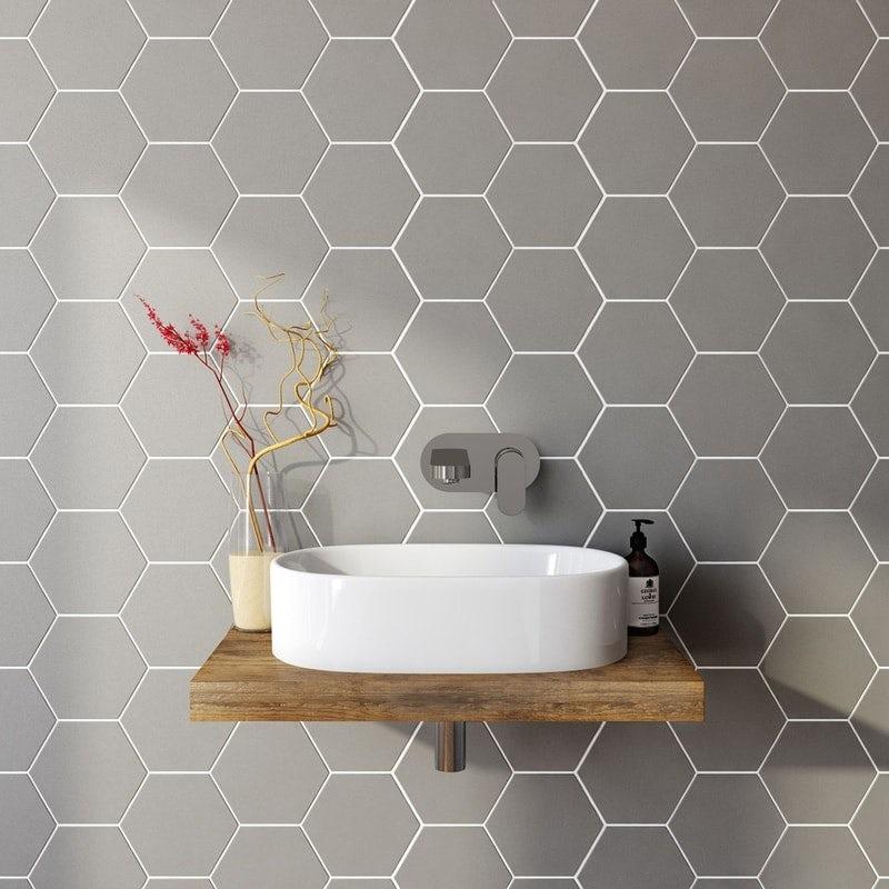 British Ceramic Tile Hex tiles