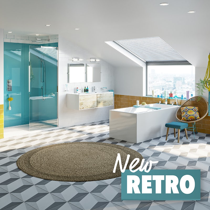 New Retro bathroom