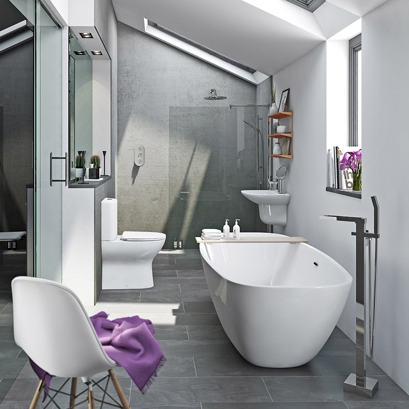 Heath bathroom suite