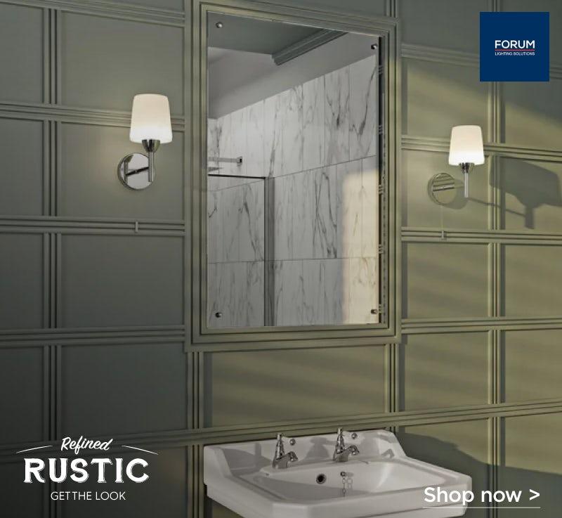 Forum Helios bathroom wall light