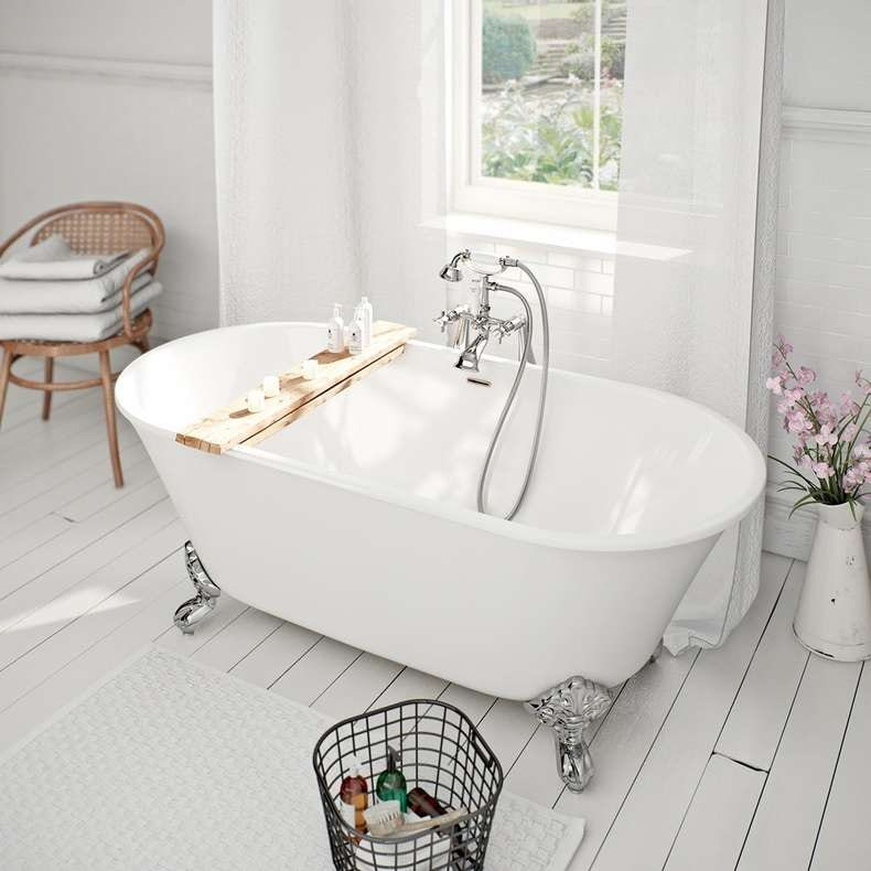 Camberley traditional freestanding bath